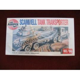 Airfix Scammell Tank Transporter Model