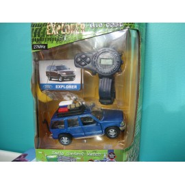 Wildlife Explorer Toy Watch and Jeep