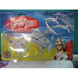 Captian Scarlet Angel Interceptor Jet Fighter