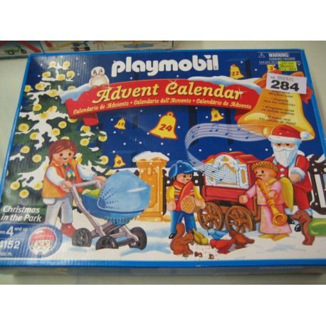 Playmobil Christmas in the park advent - 2005
