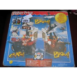 Fisher Price 2000 Double Duel Pirate Ship