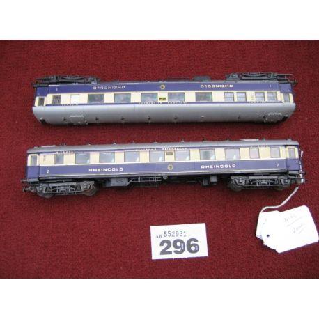 2 Deutsche - Reichsbahn Rheingold