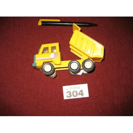 Vintage Truck made in China Yellow