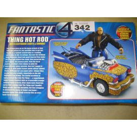 Fantastic 4 Hot Rod Car