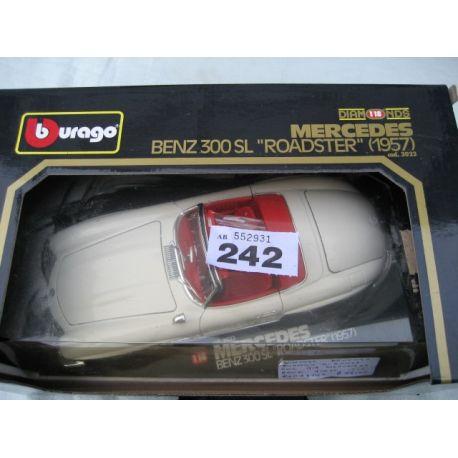 Burago 1/18 Merceses 300SL - 1957