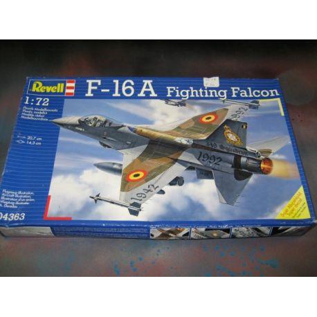F16A Fighting Falcon Scale 1/72 Un Open