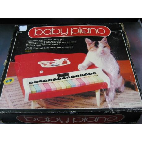 Baby Piano Toy (Colour Red)