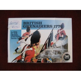 British Grenadiers Figures 1776